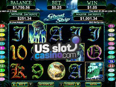 Ghost Ship Progressive Slots Review At RTG Casinos