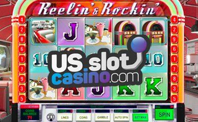 Reelin And Rockin Slot Machine