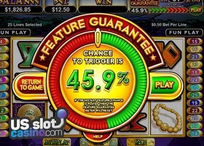Aztec's Treasure Feature Guarantee At RTG Casinos
