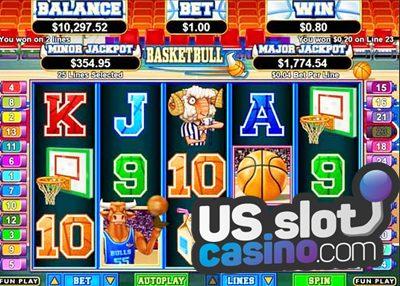 Basketbull Online Slots Review At RTG Casinos