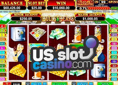 Bulls and Bears Slots Review At RTG Casinos