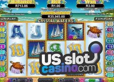 Crystal Waters Slots Review At RTG Casinos