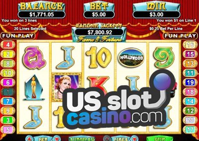 Fame & Fortune Slots Review At RTG Casinos