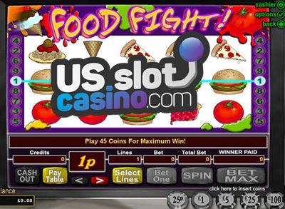 Food Fight Progressive Slots Review At RTG Casinos