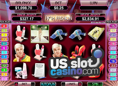 High Fashion Video Slots Review At RTG Casinos