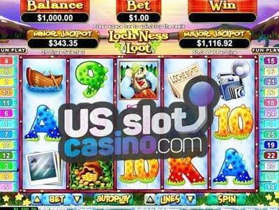 Loch Ness Loot Online Slots Reviews At RTG Casinos