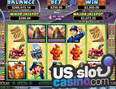 Monster Mayhem Video Slot Game Reviews At USA Online Casinos