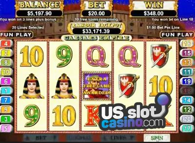 Caesars Empire Online Slots Review At RTG Casinos