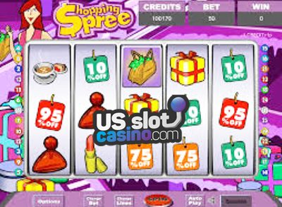 Shopping Spree II Progressive Slots Review At RTG Casinos