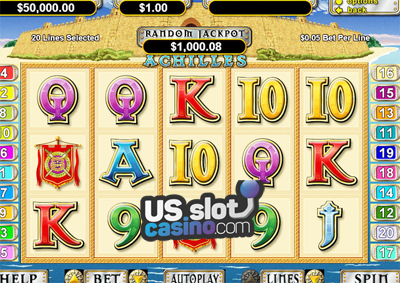 Achilles Online Progressive Slots Review At RTG Casinos