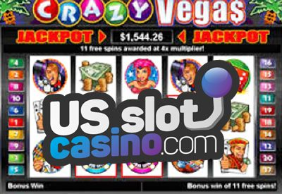 Crazy Vegas Progressive Slots Review At RTG Casinos