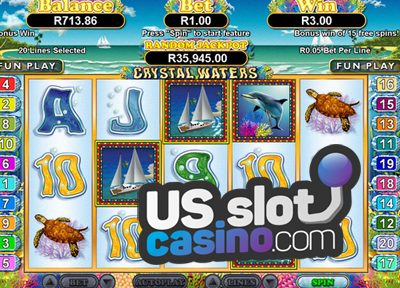 Crystal Waters Slots Review At RTG Casinos