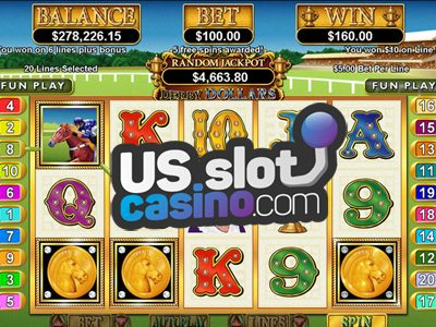 Derby Dollars Horseracing Slots Review At RTG Casinos