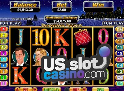 Diamond Dozen Video Slots Review At RTG Casinos