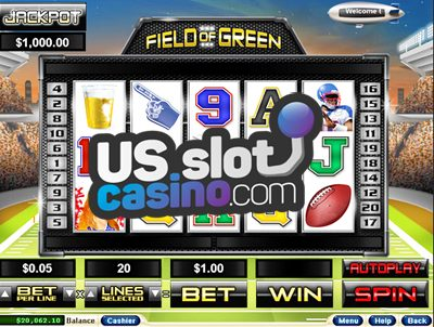 Field Of Green Video Slots Review At RTG Casinos