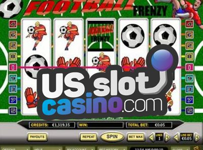 Football Frenzy Progressive Slots Review At RTG Casinos