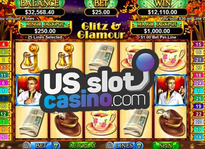 Glitz & Glamour Progressive Slots Review At RTG Casinos