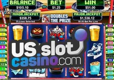 Hockey Hero Slots Review At RTG Casinos