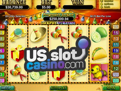 Jackpot Piñatas Slots Reviews At RTG Casinos