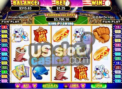 King Of Swing Online Slots Reviews At RTG Casinos