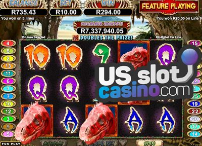 Megasaur 3D Video Slots Review At RTG Casinos