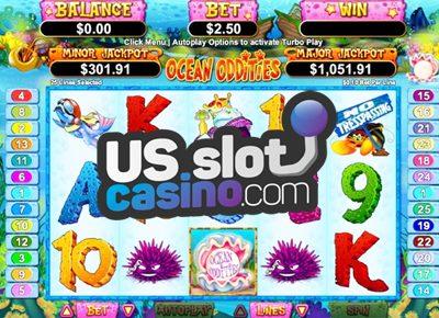 Ocean Oddities Progressive Slots Review At RTG Casinos