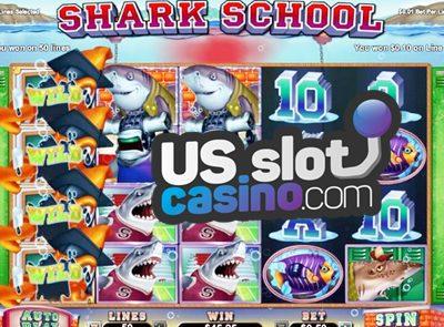 Shark School 3D Online Slots Review At RTG Casinos