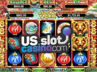 Lucky Tiger Slots Reviews At RTG Casinos