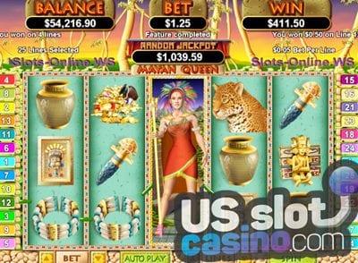 Mayan Queen Slots Reviews At RTG Casinos