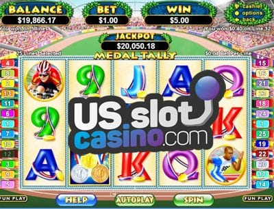 Medal Tally Slots Reviews At RTG Casinos