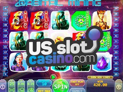 Orbital Mining Slots Review At Top Game Casinos