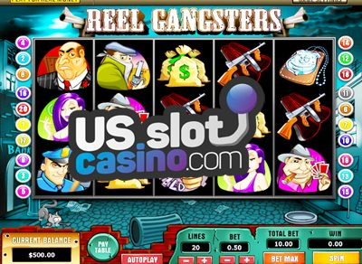Reel Gangsters Slots Review At Top Game Casinos