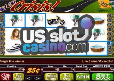 Mid Life Crisis Progressive Jackpot Slot Reviews At USA Online Casinos